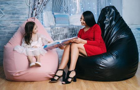 Кресла нужны побыть с детьми