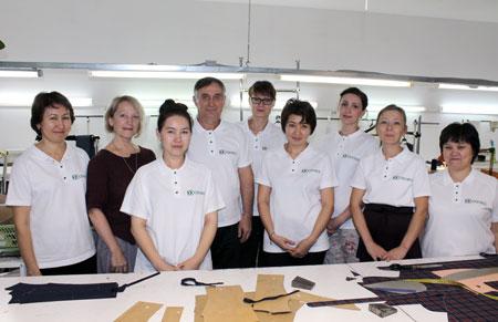 Коллектив швейного предприятия Consul